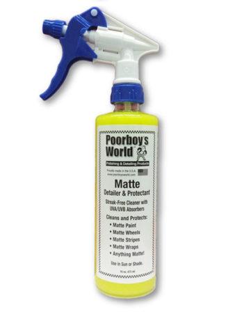 Poorboy's World Matte Detailer & Protectant
